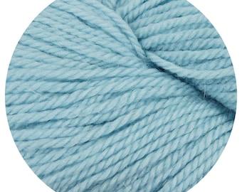 blue eyes weepaca by Big Bad Wool - light worsted yarn - 50% fine washable merino and baby alpaca - 95 yards