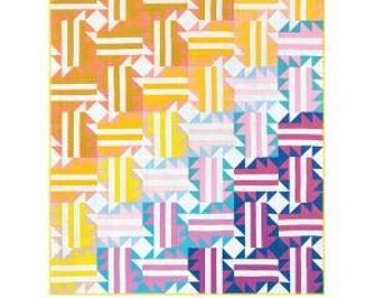 Run Wild Quilt Quilt Pattern by Then Came June - Print Pattern