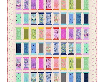 Spool for Love Quilt Kit by Tula Pink - Free Shipping in the US
