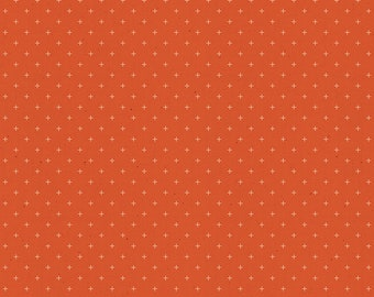 Add It Up by Alexia Abegg of Ruby Star Society for Moda - Basic Dots - Rust - Orange - RS4005 19 - Select a Size - Cotton Quilt Fabric