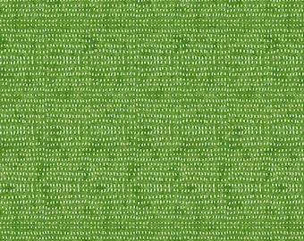Seeds by Cori Dantini  - Green Grass CD012.XGRASS  - Cotton Quilt Fabric - Fat Quarter fq BTHY By the half yard