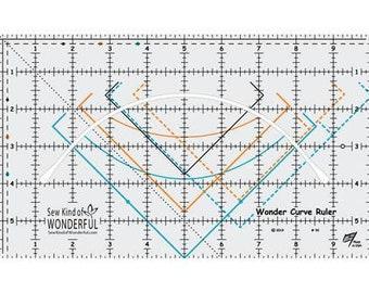 Wonder Curve Ruler by Sew Kind of Wonderful - WCR