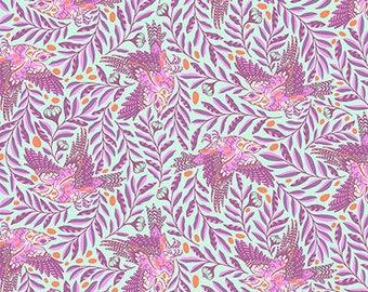 Spirit Animal by Tula Pink for Free Spirit - Re-Tweet - Aurora - Cotton Quilt Fabric 8-21