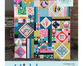 Hidden Agenda Quilt Pattern by Angela Pingel Designs - Print Pattern