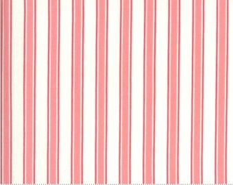 SALE Blooming Bunch by Maureen McCormick - Brady Stripe - Bubblegum 40045 31 Select a Size- FQ - half or full yard- Moda Cotton Quilt Fabric