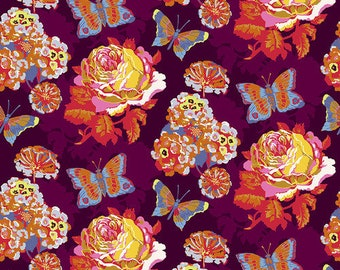 Love Always by Anna Maria Horner for Free Spirit - Clippings - Lush - PWAH038 - Select a Size - Cotton Quilt Fabric