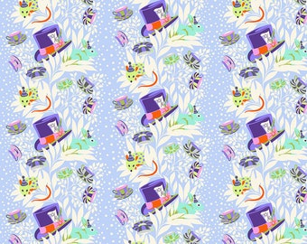 Curiouser & Curiouser by Tula Pink - 6pm Somewhere Daydream - TP165.DAYDREAM Cotton Quilt Fabric - Fat Quarter fq BTHY Yard