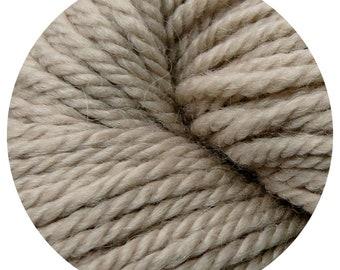 linen weepaca by Big Bad Wool - light worsted yarn - 50% fine washable merino and baby alpaca - 95 yards
