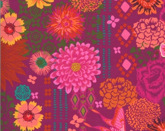 Kasada by Crystal Manning for Moda - Bazaar - Berry - 11860 12 - Select a Size - Cotton Quilt Fabric K
