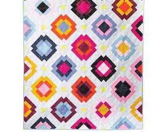 Radiate Quilt Pattern by Then Came June - Print Pattern