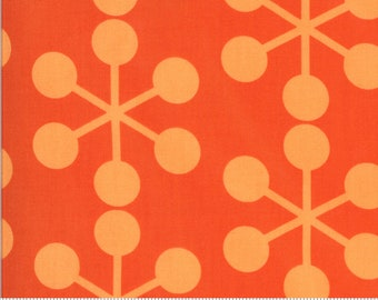 SALE Quotation by Zen Chic - Asterisk Clementine 1731 24 Select a Size - FQ, half or full yard- Moda Cotton Quilt Fabric K