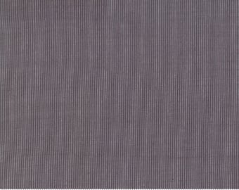 Grainline Wovens by Jen Kingwell for Moda - Grainline - Charcoal - Grey - 18180 21 - Select a Size - Cotton Quilt Fabric