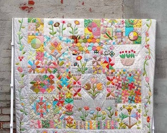 Green Tea and Sweet Beans Quilt Pattern Book by Jen Kingwell Designs