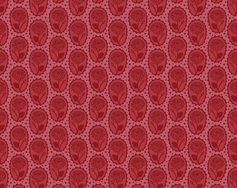 Love Always by Anna Maria Horner for Free Spirit - Locket - Coral - PWAM018 - Select a Size - Cotton Quilt Fabric