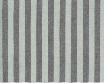 Low Volume Stripe Silver Grey Woven 18201 18 by Jen Kingwell for Moda - FQ Fat Quarter BTHY Yard - Cotton Quilt Fabric