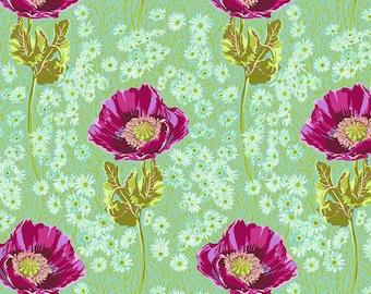 Bright Eyes by Anna Maria Horner FreeSpirit - Bossy - Meadow - AH150.MEADOW FQ BTHY - Cotton Quilt Fabric 9-21