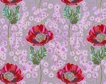 Bright Eyes by Anna Maria Horner FreeSpirit - Bossy - Heather - AH150.HEATHER - FQ BTHY - Cotton Quilt Fabric 9-21