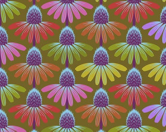 Love Always by Anna Maria Horner for Free Spirit - Echinacea Glow - Autumn - PWAH149 - Select a Size - Cotton Quilt Fabric