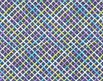 Kaffe Fassett Collective - Brandon Mably - Mad Plaid - Contrast - PWBM037 - FQ Fat Quarter BTHY Yard -100% Cotton Quilt Fabric 1021