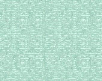 Seeds by Cori Dantini  - Aqua Ice CD012.XICE  - Cotton Quilt Fabric - Fat Quarter fq BTHY By the half yard