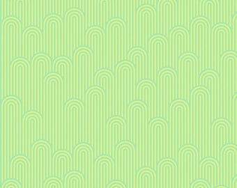 Zuma by Tula Pink for Free Spirit - Tower 7 - Seaglass - FQ Fat Quarter yard cotton quilt fabric 8-21