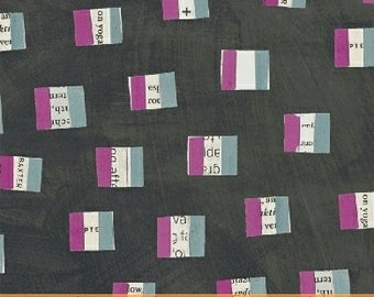 Wonder by Carrie Bloomston for Windham Fabrics - French Flags - Charcoal - 50518-5 - Cotton Quilt Fabric - Choose your Size 8-21+B