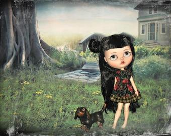 Blythe  ~ Retro 1950s  Inspired Dress   ~   by KarynRuby