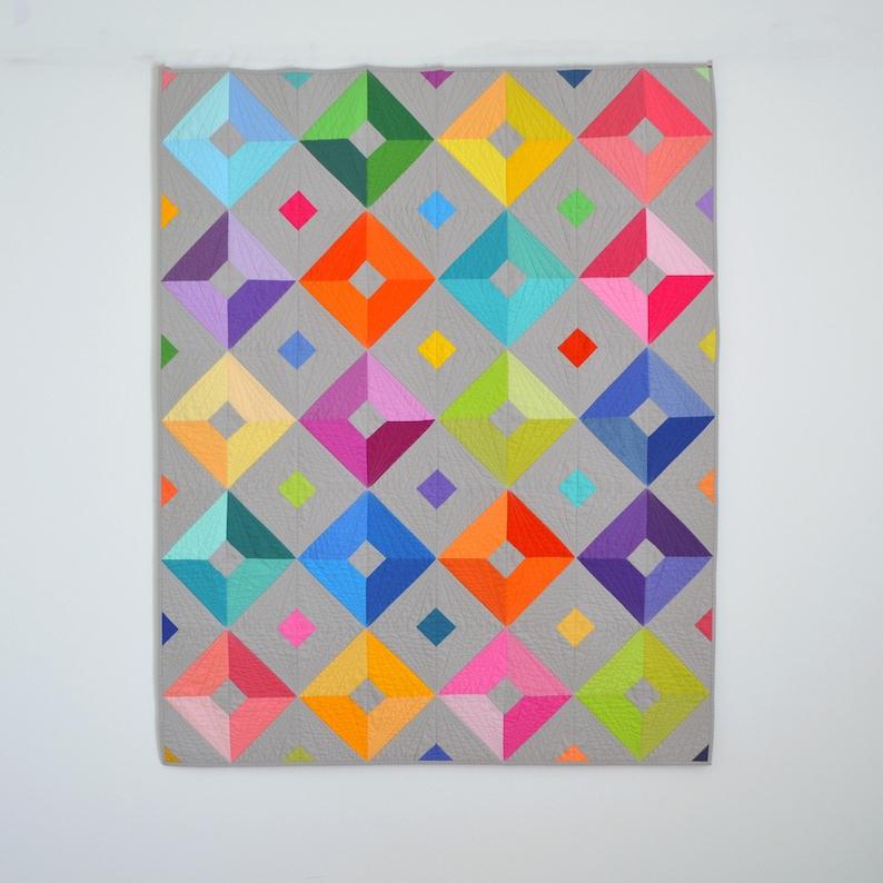 PDF Sparkle Quilt Pattern PDF Download Bild 6