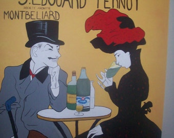 Absinthe painting on sale