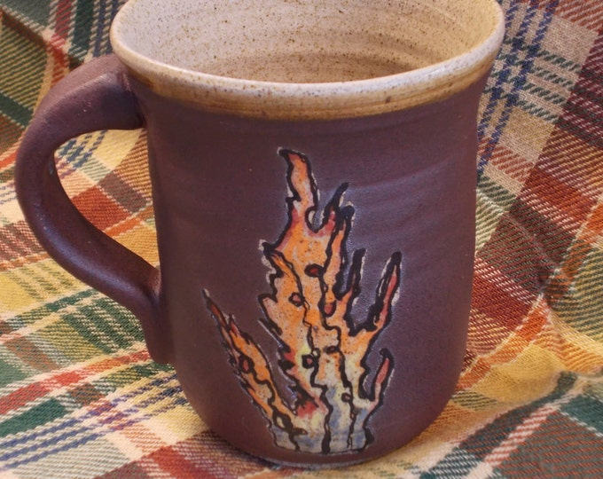 Fire Cup or mug for drinking Coffee, Tea, Beer, Wine