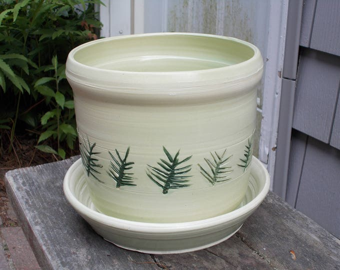 Light Green Planter