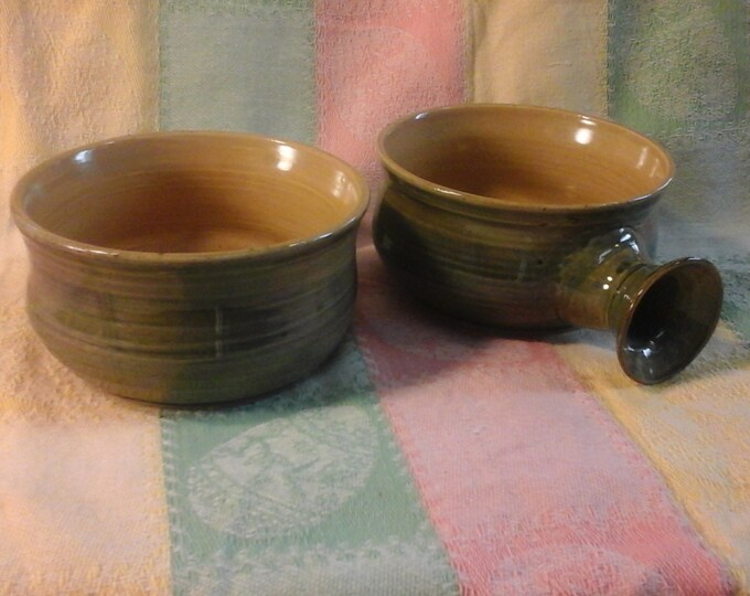 Soup Bowls with Handles for soup, cereal, baked beans and all else you'd put in a bowl