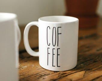 Coffee, Coffee Mug, Mug, Ceramic Mug, Coffee Lover Gift, Coffee Gift, Cute mug, Gift for Mom, Lettered Mug, Mugs, Funny mug, Quote Mug
