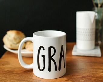 Grandma Mug, Grandma Gift, Grandparent Gift, Grandparent's Day, Mug, New Grandma Gift, Grandma Gift, Gift for Mom, New Grandma, Grandma Mug