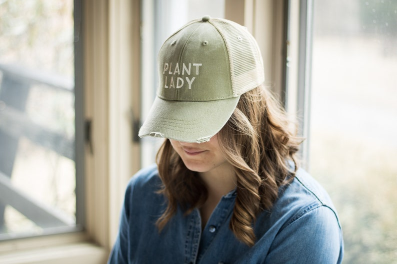 b1499ae7075 Plant Lady Plant Lady Hat Mothers Day Gift Mom Hat Trucker