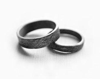 Unique couple rings | Etsy