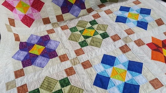 Mille Idee Con Il Patchwork.Morning Again Quilt Addicts Patchwork Quilt Pattern