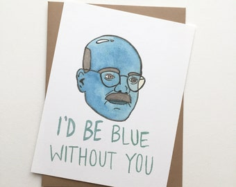 """Arrested Development Card// Tobias """"Blue without you"""""""