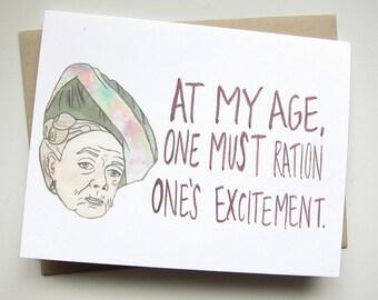 Downton Abbey // Violet Crawley Card