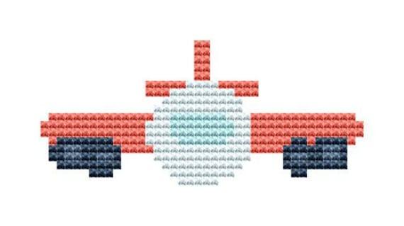 Cross Stitch Pattern Transportation Series 19 Instant Download PDF