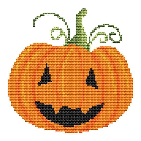 Cross Stitch Pattern Halloween 3 Instant Download PDF