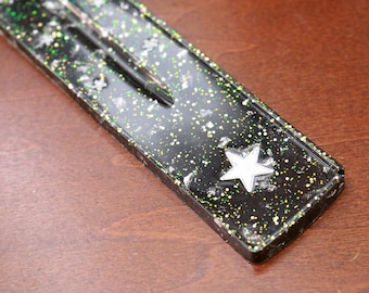Geode Glitter Star Incense Burner/Ash Catcher