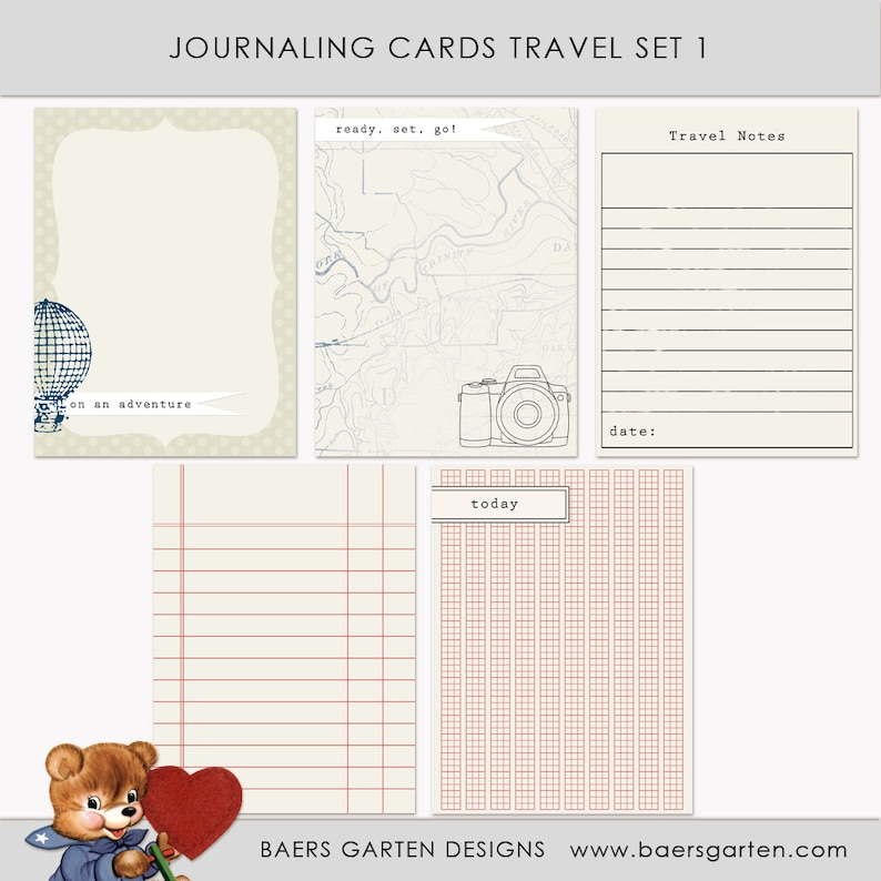 image regarding Printable Journaling Cards identified as Printable Journaling Playing cards Push Fixed 1 for Sbook and Challenge Lifetime Quick Obtain