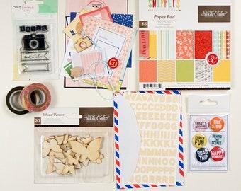 Snippets Scrapbook Kit