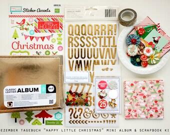 Dezember Tagebuch Happy Little Christmas Album + Scrapbook Kit