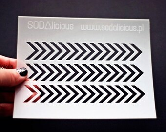 Sodalicious Arrows Mask / Stencil