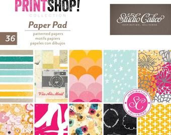 "Studio Calico Printshop 6x6"" Paper Pad"
