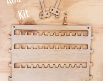 ADD ON Jewellery Brooch Necklace Keeper Hanging Storage Unit - Organise and store all your brooches in the one place