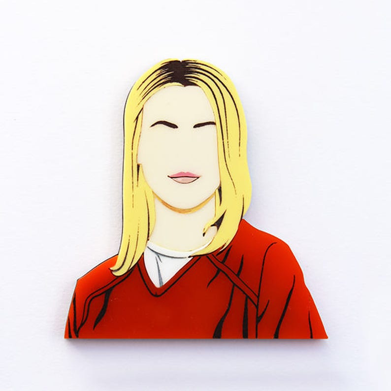 Orange Is The New Black Piper Chapman layered laser cut image 0