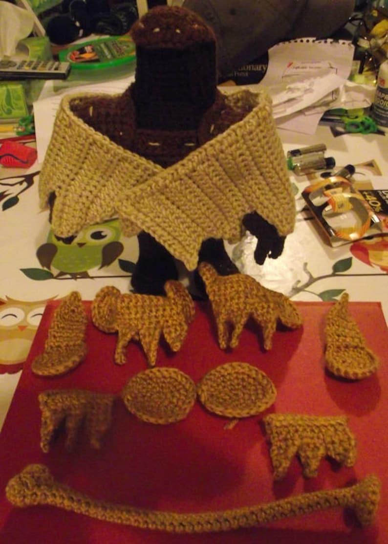 Songbird-Like Crochet Doll Pattern